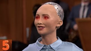 5 Most Disturbing Things Said By A.I. Robots (Documentary)