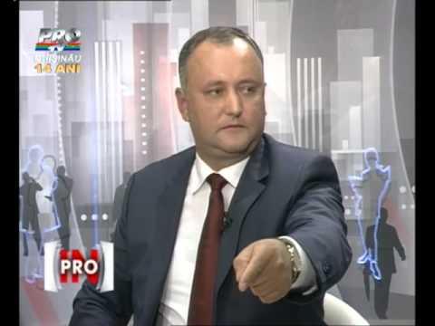 In PROfunzime din 9 septembrie, cu Igor Dodon si Vasile Botnaru