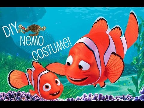 Diy Nemo Costume Youtube