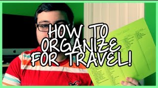 How to Organize for Travel! Thumbnail