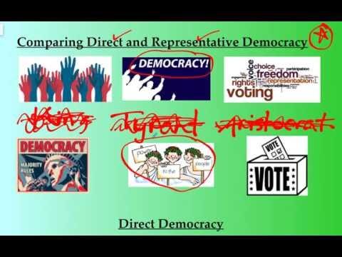 Ancient Greece: Direct vs Representative Democracy