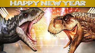 T-REX Vs I-REX, HAPPY NEW YEAR 2021 || Jurassic World The Game [Full HD]