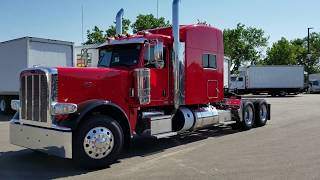 "2019- Peterbilt 389 Ultra - Viper Red,/Black Fenders - 78"" Sleeper- Call JW 970-518-5520"