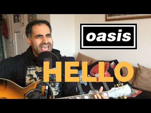 ♫ Hello Oasis (Acoustic Cover) ♫ - with guitar chords