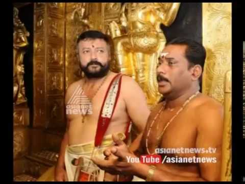 Sabarimala early opening is becoming a controversy