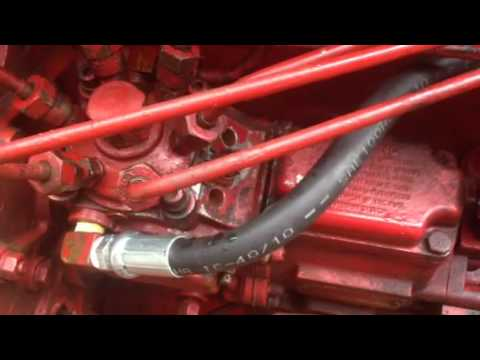 966 ih injector pump youtube