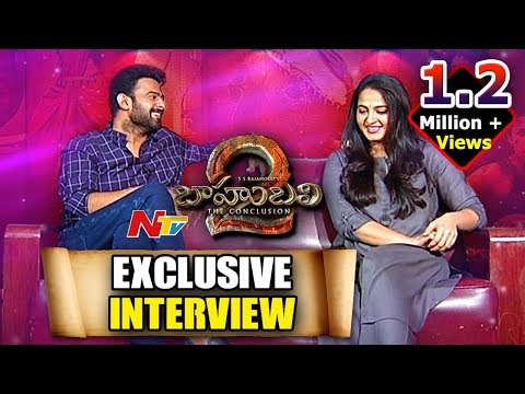 Prabhas and Anushka Exclusive Interview || Baahubali 2 || Rana Daggubati || NTV