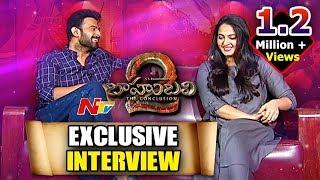 Prabhas and Anushka Exclusive Interview || Baahubali 2 || Rana Daggubati || NTV