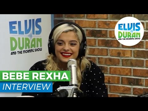 "Bebe Rexha Interview Talks Eminem, New Single ""No Broken Hearts"" | Elvis Duran Show"