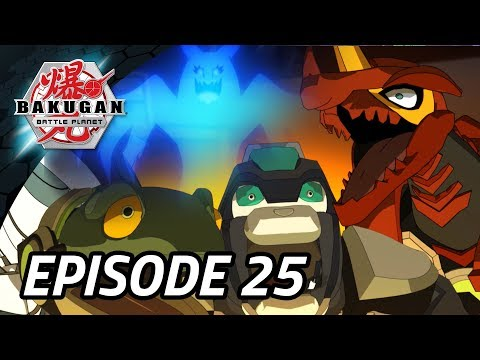 A Bakugan Ghost?! | Bakugan Battle Planet | Small Brawl Stories | Episode 25 | Haunted HQ