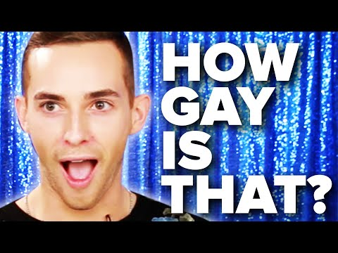 """How Gay Is That?"" Feat. Adam Rippon"