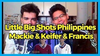 Little Big Shots Philippines: Mackie, Keifer & Francis | TNT Kids Trio REACTION