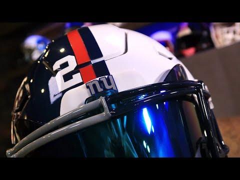 Saquon Barkley Penn State/NY Helmet