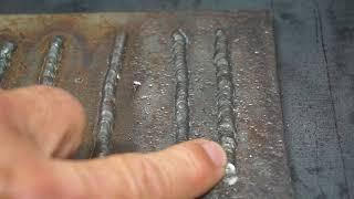 Flux core welding problems