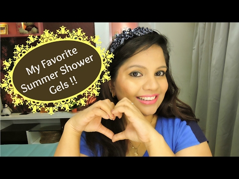 Top 5 Shower Gels In India for Summer! My favorite Summer Shower Gels!