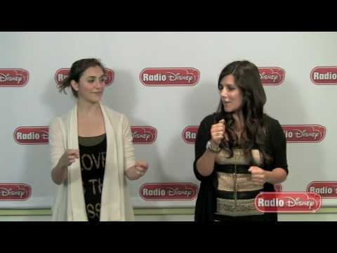 "Alyson Stoner Teaches Radio Disney's Candice the Dance Moves from ""It's On"""