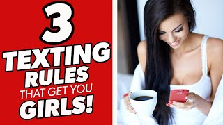 How To Text A Girl 👉3 Texting Secrets To Keep Her Attracted To You 😏Texting Tips For Guys