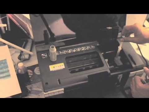 How to clean Epson printhead, how to unclog Epson printer