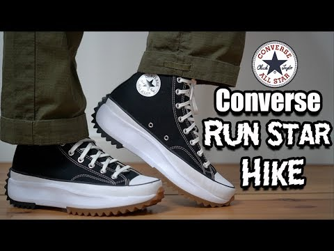 CONVERSE RUN STAR HIKE REVIEW + ON FEET & SIZING