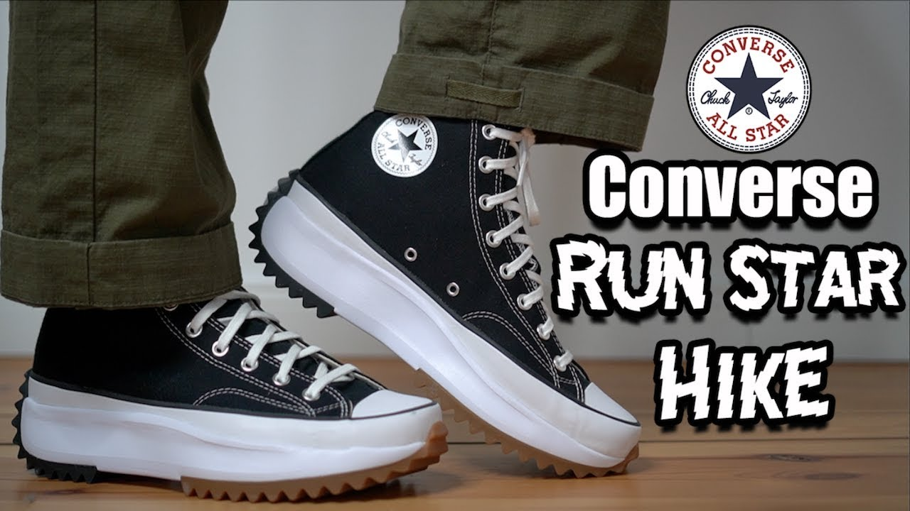 converse run star hike homme