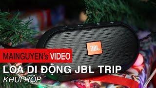 Khui hộp loa di động JBL Trip - www.mainguyen.vn