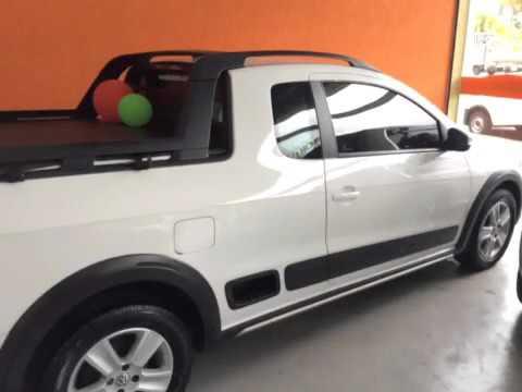 Volkswagen saveiro 1 6 cross ce 8v 2p 2013 carros usados for Espaillat motors vehiculos usados