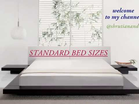 Dimensions of king size bed in feet in india