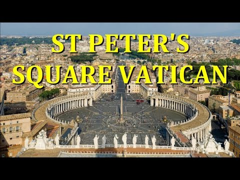 ST PETER'S SQUARE TOUR - VATICAN CITY - ROME