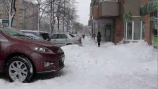Iarna 2012 în București (Calea 13 Septembrie)
