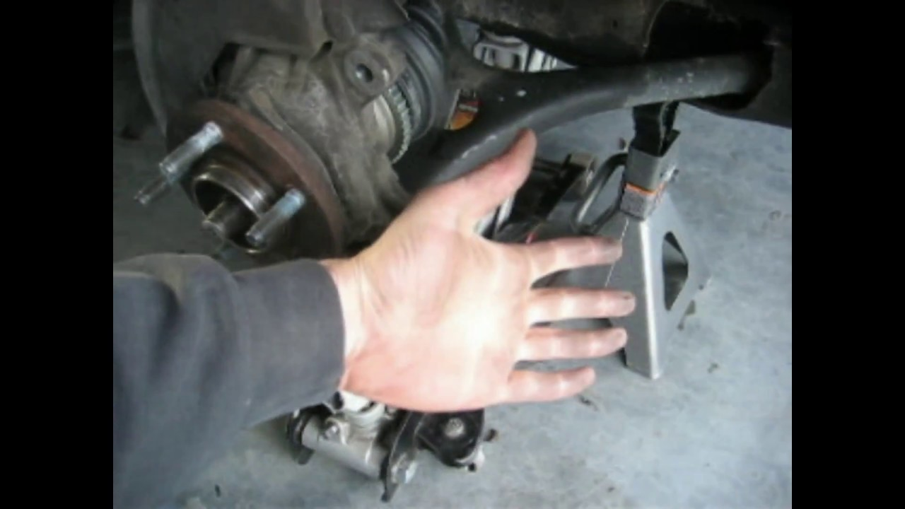 2016 Ford Taurus Sho >> Shortcut - 99 Ford Taurus Front Strut Replacement - Lower Subframe - YouTube