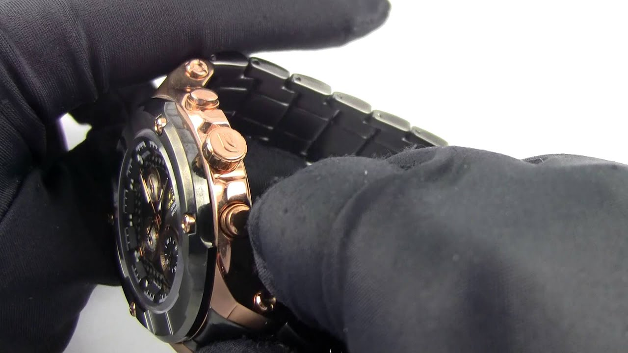 It is a picture of Peaceful Casio Edifice Gold Label Efx 510p