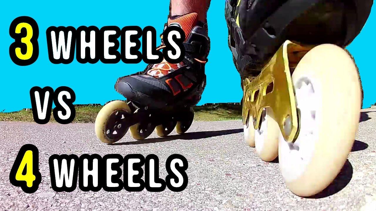 triskates vs 4 wheel skates which are better doovi. Black Bedroom Furniture Sets. Home Design Ideas