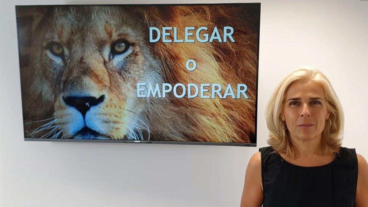 Delegar o empoderar