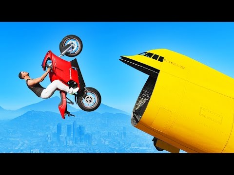 GTA 5 STUNTS: BEST MOMENTS! (GTA 5 Wins,...