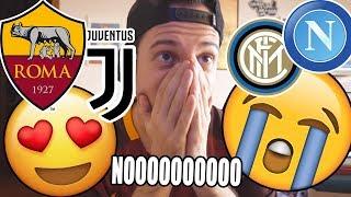 ROMA E JUVE CHE C*LO!! PREGHIAMO PER NAPOLI E INTER! *Sfigate* - Sorteggi Champions League Reazione