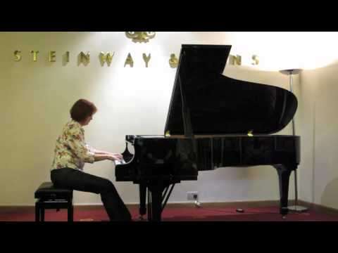 Chasse Neige at The London Piano Salon, July 7th at Steinway Hall