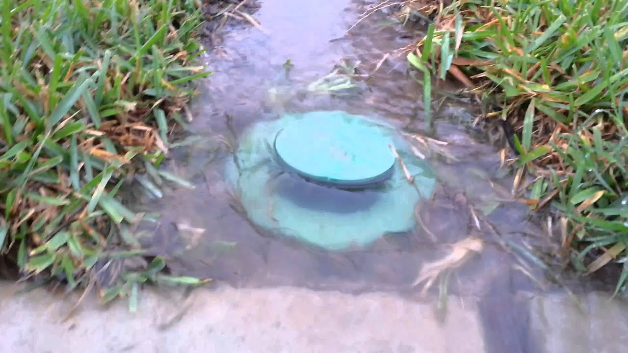 Pop Up Drainage Emitter Youtube