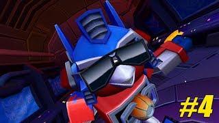 angry birds transformers 3 sức mạnh của optimus chim điên robot biến hình 4