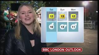 Wendy Hurrell BBC London news weather December 21st 2012 HD Better Quality