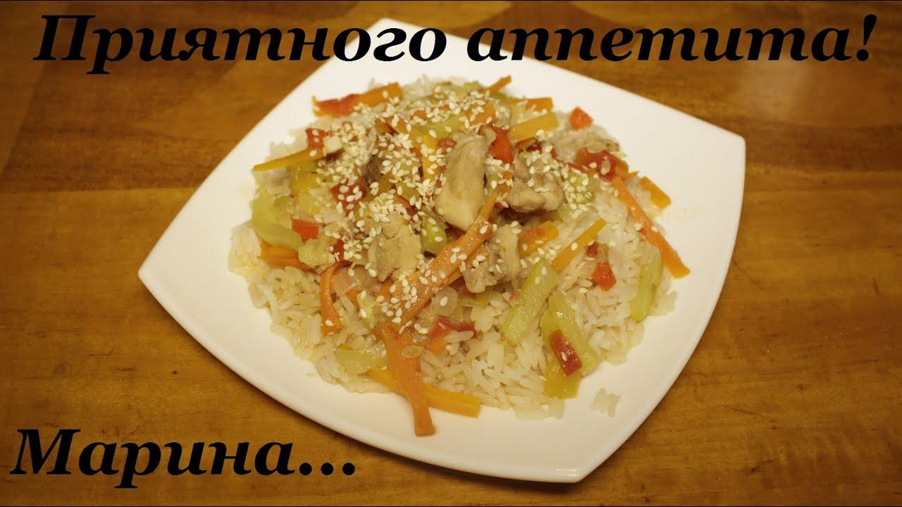 Рецепты простые с рисом
