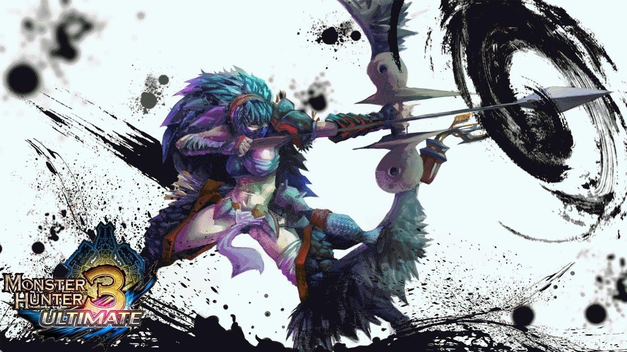 Monster hunter 3 ultimate mh3u for beginners bow guide for Decoration list monster hunter world