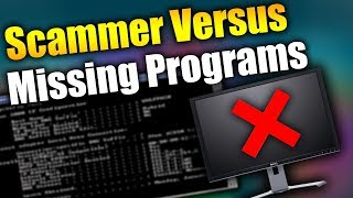 Scammer RAGES Without NETSTAT (Missing Programs) | Tech Support Scammers EXPOSED!