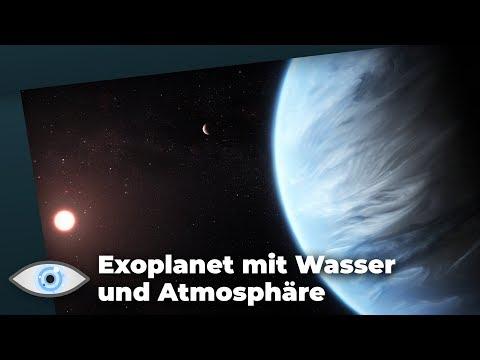 Der erste Exoplanet mit Wasser! Leben auf K2-18b möglich? - Clixoom Science & Fiction