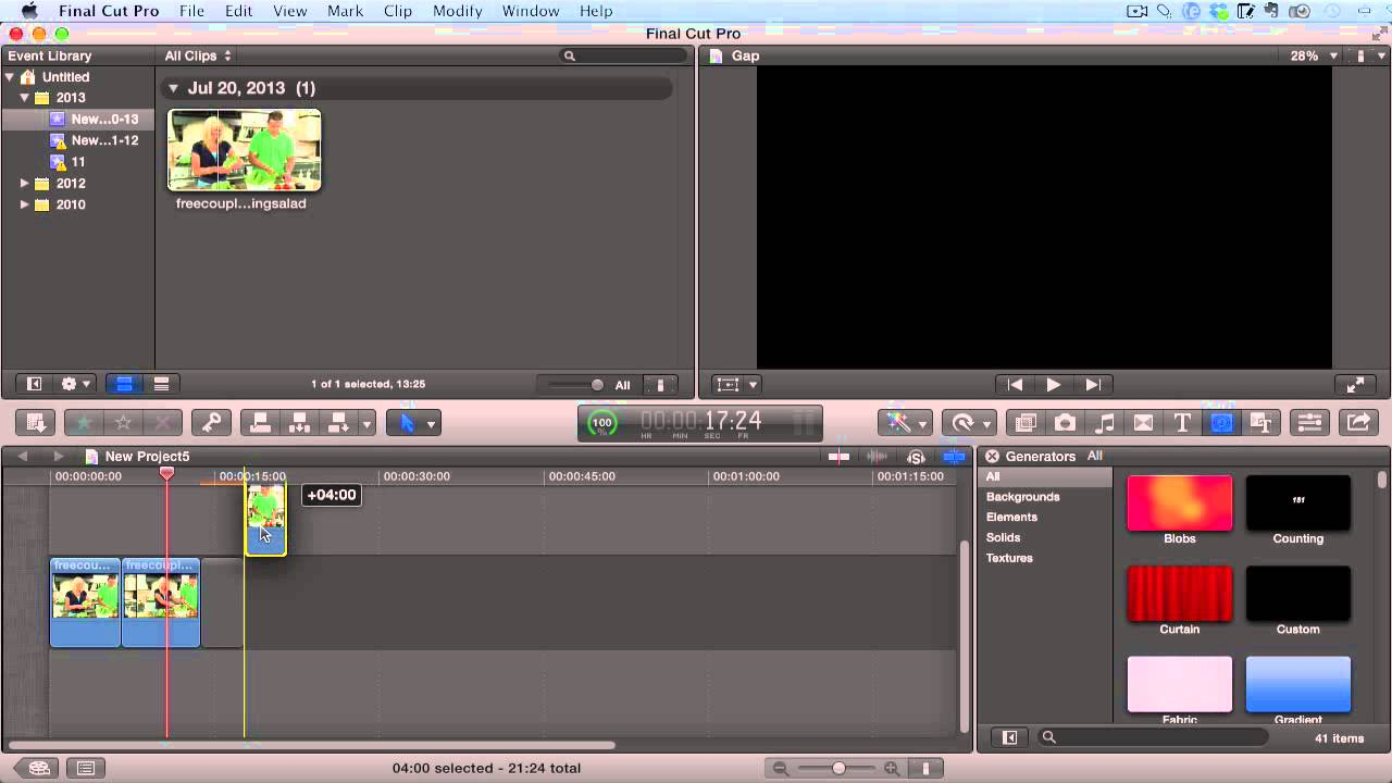 Final Cut Pro X Tutorial - How To Create Still Images From Video ...