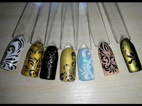 вензеля — Фото база маникюра, дизайн ногтей