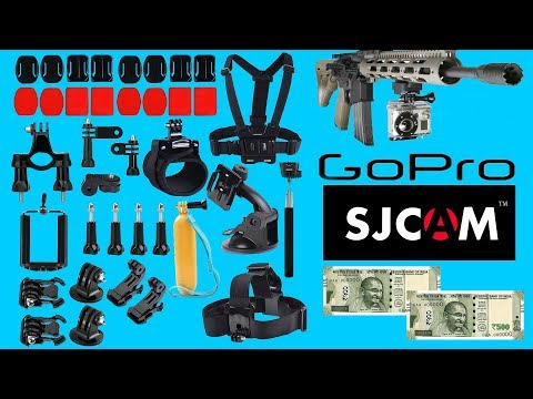 50 GoPro Accessories For Rs 1000 | Unboxing | WaterTest