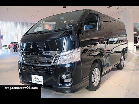 Nissan Nv350 Caravan Rider Black Line Premium Gx