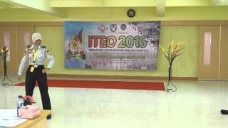 """ITEO 2016""""The Smartest Perrot"""""""