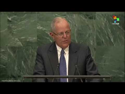 UN Speeches: Peruvian President Pedro Pablo Kuczynski