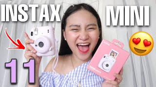 Instax Mini 11 Unboxing + First Impression Review 2020! (Philippines)